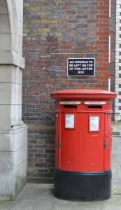 london red postboxes